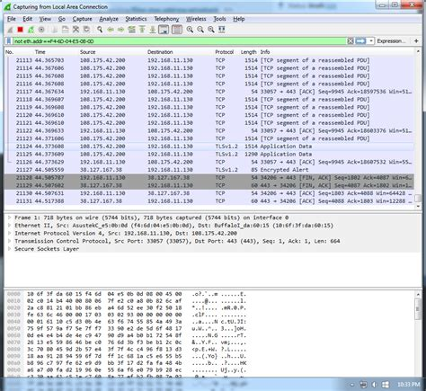 Wireshark Mac Address Lookup How To Filter Out A Mac Address In Wireshark Gary Sieling