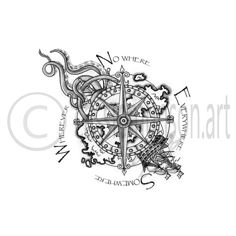 pencil drawings of tattoo designs drafting compass www pixshark images