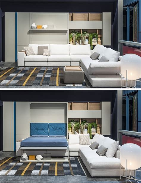 wall bed sofa systems the tango sectional is a vertically opening queen size
