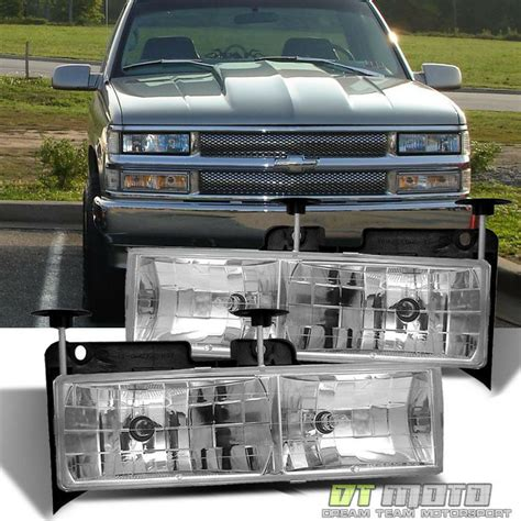 chevrolet gmc full size gas pick ups 88 98 c k classics 99 00 haynes repair manual glass len 88 98 chevy gmc c10 c k full size pickup truck headlights ls lights ebay