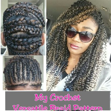 versatile crochet hairstyles 192 best crochet braids images on pinterest