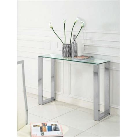 Small Glass Console Table Small Glass Console Table Geo Glass Small Clear Glass Console Table Small Modern Console