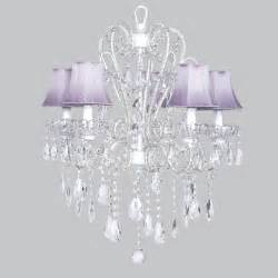 white chandelier with shades five arm whimsical beaded chandelier in white with