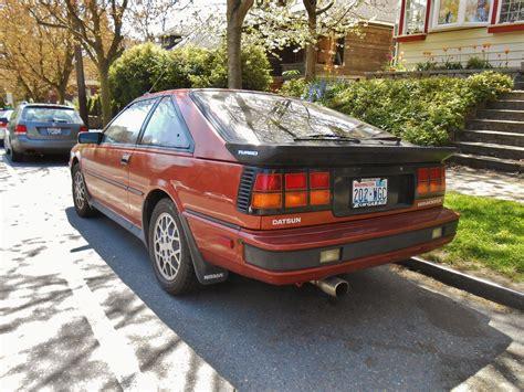 nissan datsun 1985 seattle s parked cars 1985 datsun nissan 200sx turbo