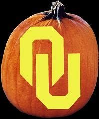 Ou Pumpkin Carving Templates spookmaster oklahoma sooners college football team