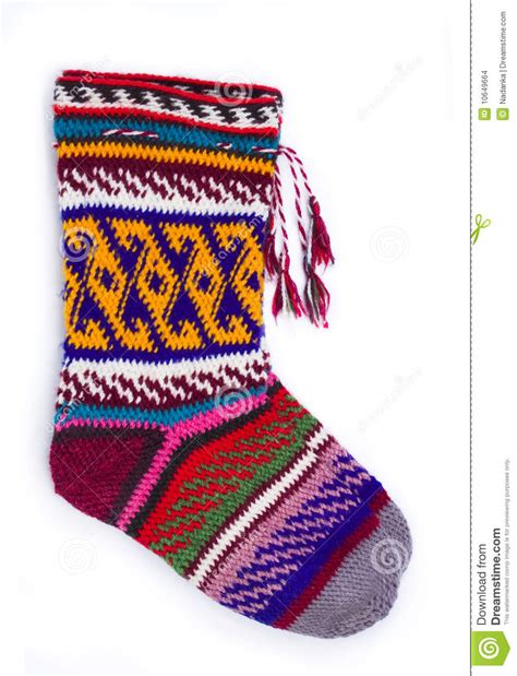 Handmade Wool Socks - handmade wool socks stock images image 10649664