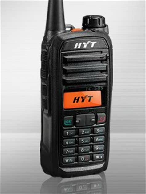 Hyt Tc 508 And Tc 580 business walkie talkie shop of walkie talkie