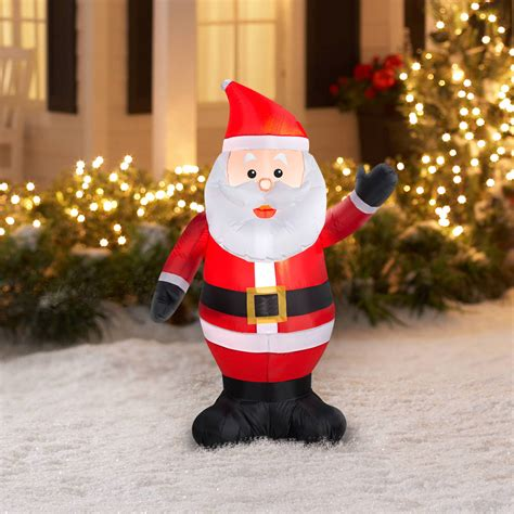 all outdoor christmas decorations wayfair airblown