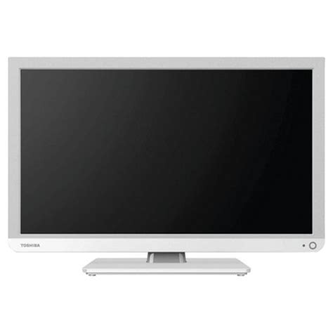 Tv Led Toshiba 24 Inch Hd buy toshiba 24d1334b2 24 inch hd ready 720p led tv dvd combi with freeview white from our