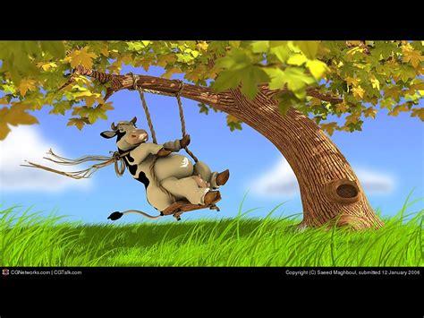 free swing sites cute cartoon cows car interior design