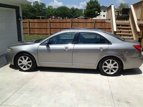 repair anti lock braking 2008 lincoln mkz electronic valve timing find used 2008 lincoln mkz vapor silver single owner seller excellent condition w bonus in