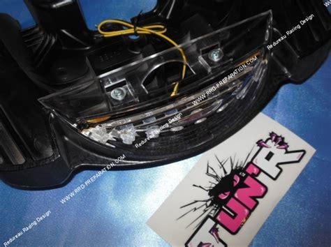 Lu Led Yamaha 167 poign 233 e de maintien avec feu stop tun r pour mbk booster