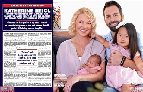 Will Katherine Heigl Adopt A Korean Baby by Katherine Heigl Opens Up About Adopting Adalaide Today S