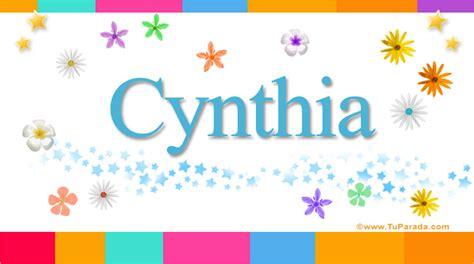 imagenes que digan feliz cumpleaños cinthia cynthia nombres populares de mujer tarjetas