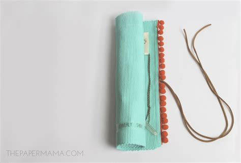 how to make a jewelry roll diy jewelry roll made from a placemat