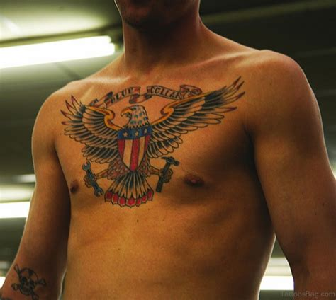 eagle chest tattoo designs 60 graceful eagle tattoos on chest
