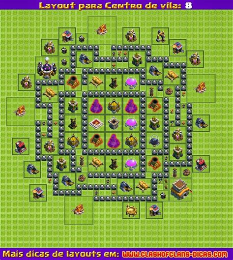 layout cv 8 farming youtube fyrerafa clash of clans layout cv 8