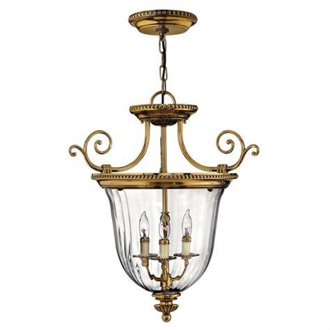 inverted uplighter ceiling pendant or lantern solid brass