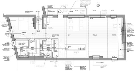 how we plan to use the warehouse space rina tnunay floor plan after restoration of london warehouse loft by
