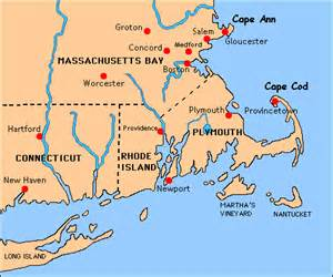 Massachusetts Bay Colony Map by Massachusetts Bay Colony Quotes Quotesgram