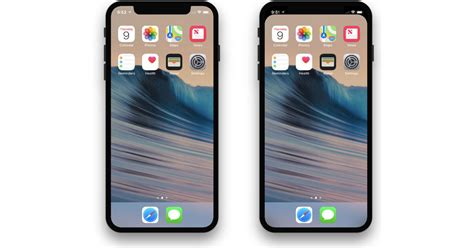 this wallpaper hides the iphone x notch the mac observer