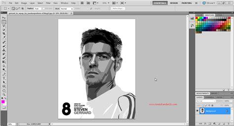 gambar tutorial lengkap membuat wpap photoshop part