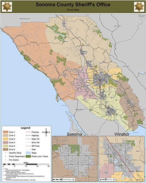 Sonoma County Sheriff Warrant Search Zone Map Sonoma County Sheriff S Office
