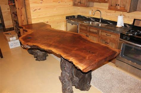 Rustic Wood Countertop by Rustic Timber Countertops The Owner Builder Network
