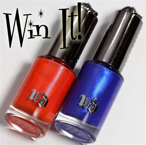 Urban Decay Giveaway - lace and lacquers 6 2 manic ure giveaways monday