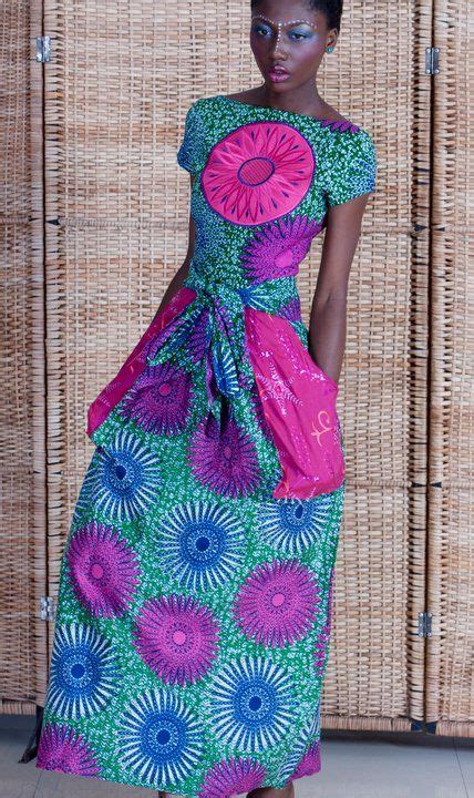 Maxi Sea Green sea green and pink maxi africa inspired fashion