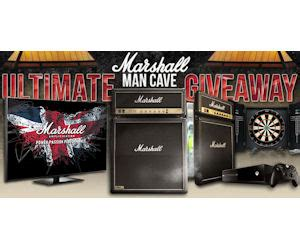 Man Cave Giveaway - win the marshall man cave giveaway free sweepstakes contests giveaways
