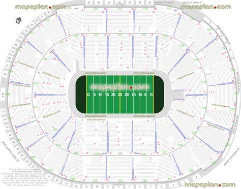 sap center seating chart sap center sabercats arena football league afl seating