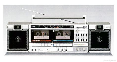 aiwa radio cassette recorder aiwa ca w50 manual portable radio cassette recorder
