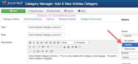 video tutorial joomla 3 joomla 3 tutorial how to create nested article categories