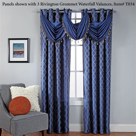 curtains broadway broadway embroidered grommet curtain panels