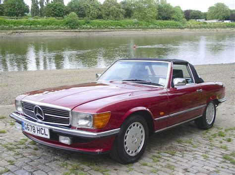 electric power steering 1989 mercedes benz sl class on board diagnostic system classic chrome mercedes benz 300 sl 1989 f burgundy