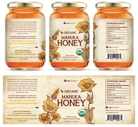 packaging labels template organic manuka honey labels template http www dlayouts