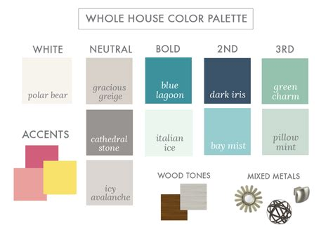 whole house color palette 2017 how to decorate without losing your sanity don t miss