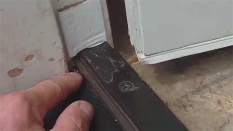 Exterior Door Seals Thresholds Top Door Threshold Prefab Homes Andersen Door Threshold Installation