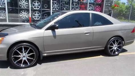 rims for a honda civic hillyard lions 2003 honda civic 2 door with 18 inch
