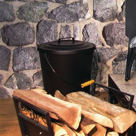 What Can Fireplace Ash Be Used For by Pleasant Hearth Fireplace Ash Can Walmart Ca