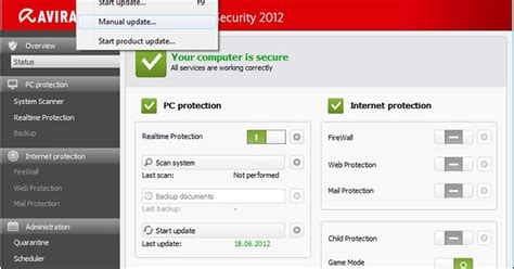 aplication and free update avira terbaru