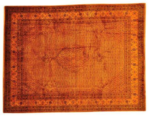 Burnt Orange Bathroom Rugs Rug Knotted Tabriz Mahi Overdyed Burnt Orange Rug Sh13489 Traditional Area
