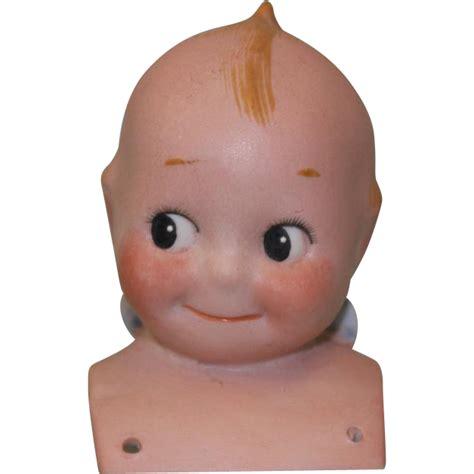 4 inch kewpie doll 3 inch antique german bisque kewpie doll shoulderhead