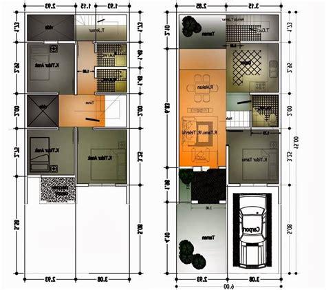 pembangunan denah rumah  lantai minimalis renovasi rumahnet