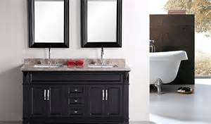 hudson 60 inch traditional sink bathroom vanity by