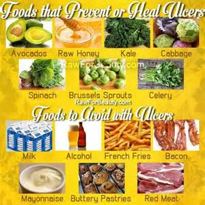 foods for ulcers health fitness herbs foods