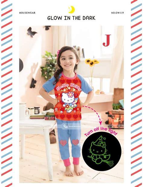 Sale Baju Setelan Anak Perempuan Gw 240 L Elsa Frozen Sayap Celana piyama anak trend piyama anak gw 119