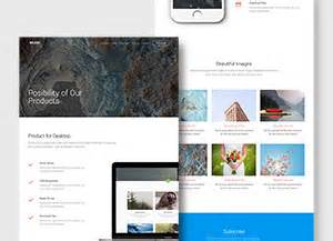 splash free html template graphicburger