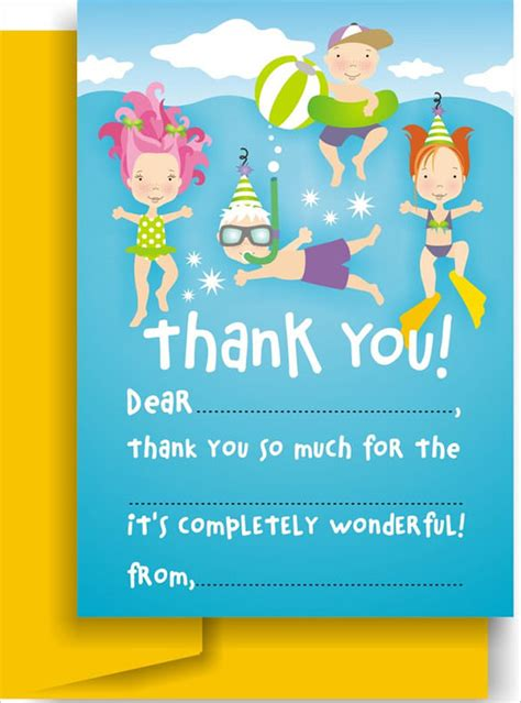 template for thank you card birthdays 105 thank you cards free printable psd eps word pdf